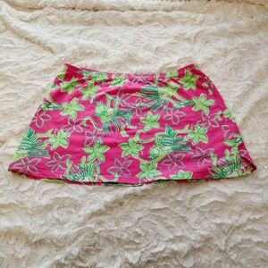 Lilly Pulitzer swimsuit cover skirt